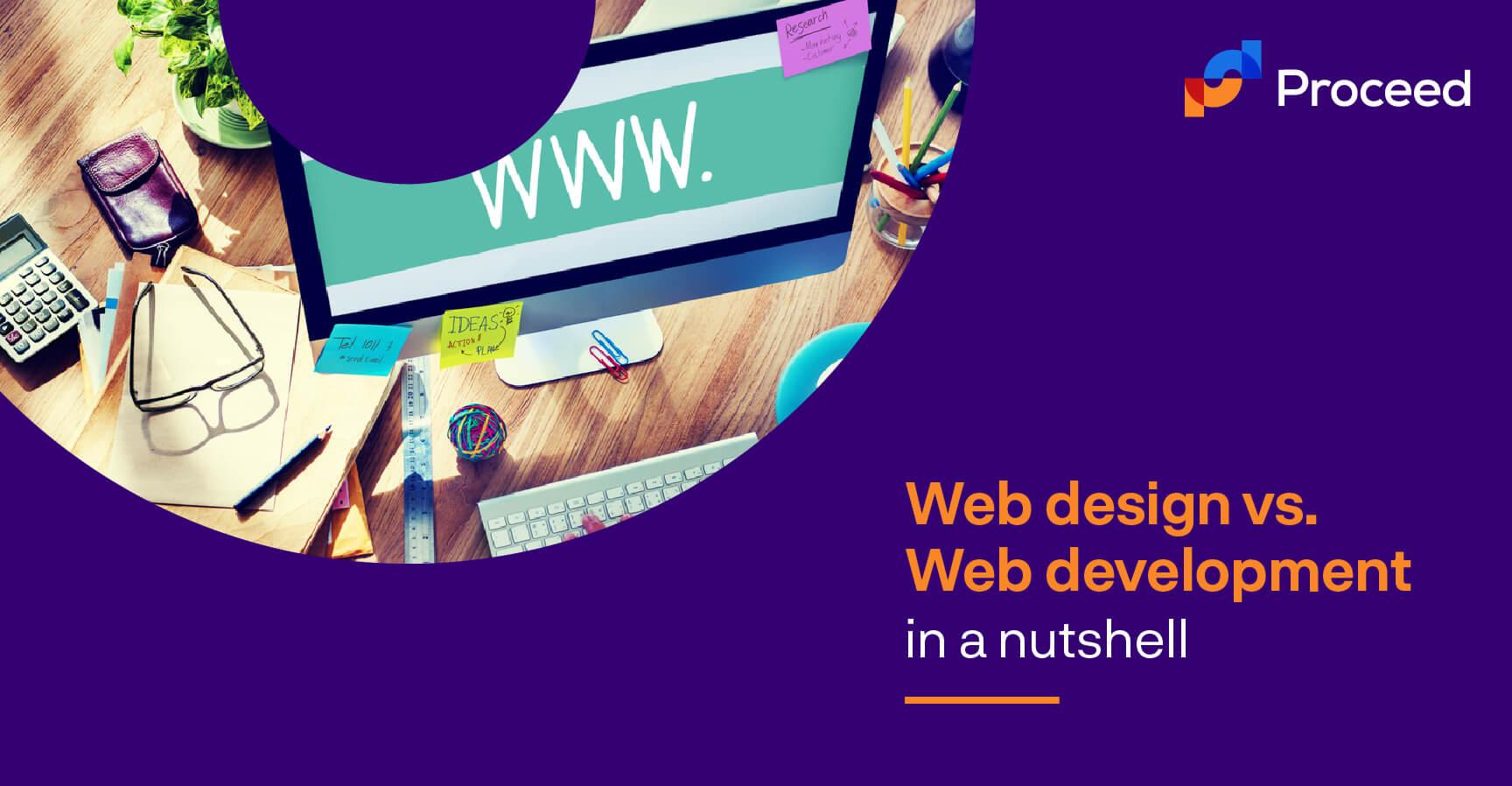 Web Design vs Web Dev